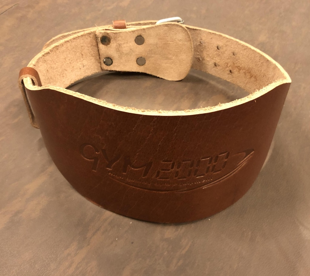 Classic Lifting Belt skinn bred rygg XL